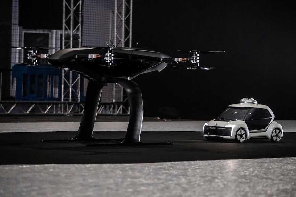 Taxi bay Audi Airbus