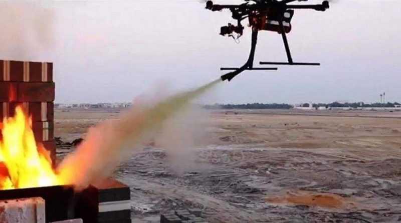 DJI và LAFD hợp tác để mang máy bay không người lái vào hoạt động chữa cháy