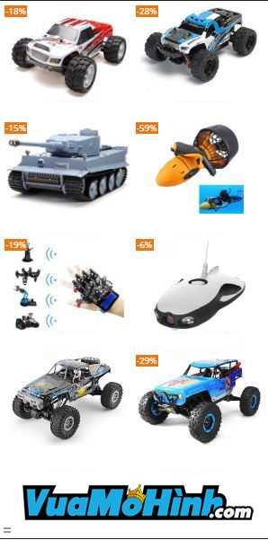 Xe địa hình điều khiển từ xa, xe mô hình điều khiển, xe điều khiển RC chính hãng